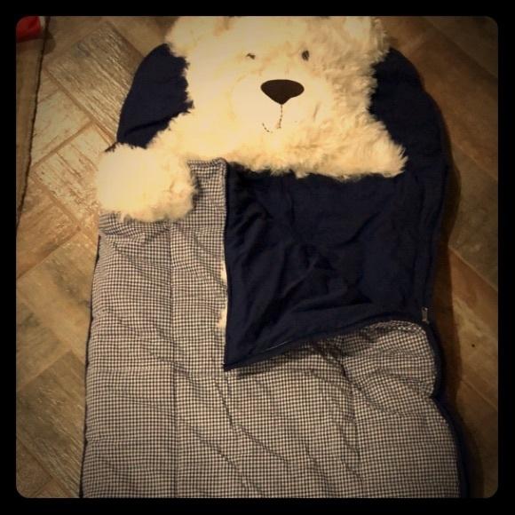 online store f2ac9 f48de Pottery Barn Kids Fuzzy Bear Sleeping Bag